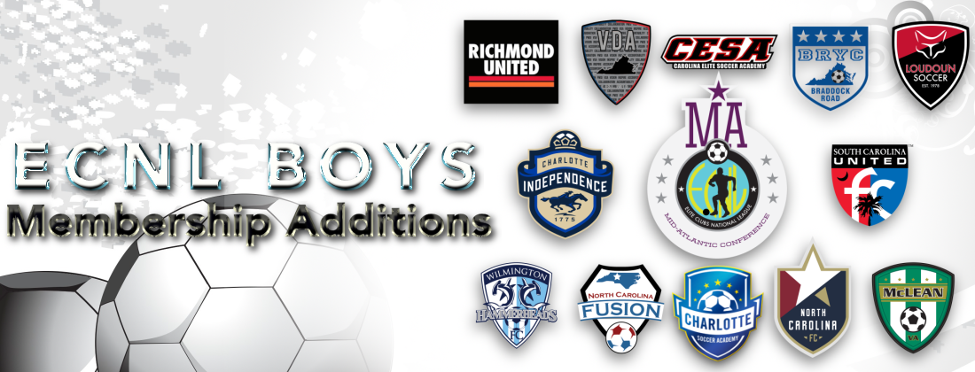 Richmond United joins ECNL Boys for 2020-21 season!